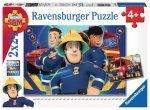 Ravensburger Puzzle 2x24 elementy -  Strażak Sam