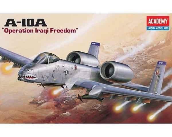 Model plastikowy samolot A-10A 'Operation Iraqi Freedom'