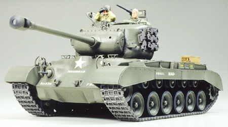 Model plastikowy US Med Tank M26 Pershing
