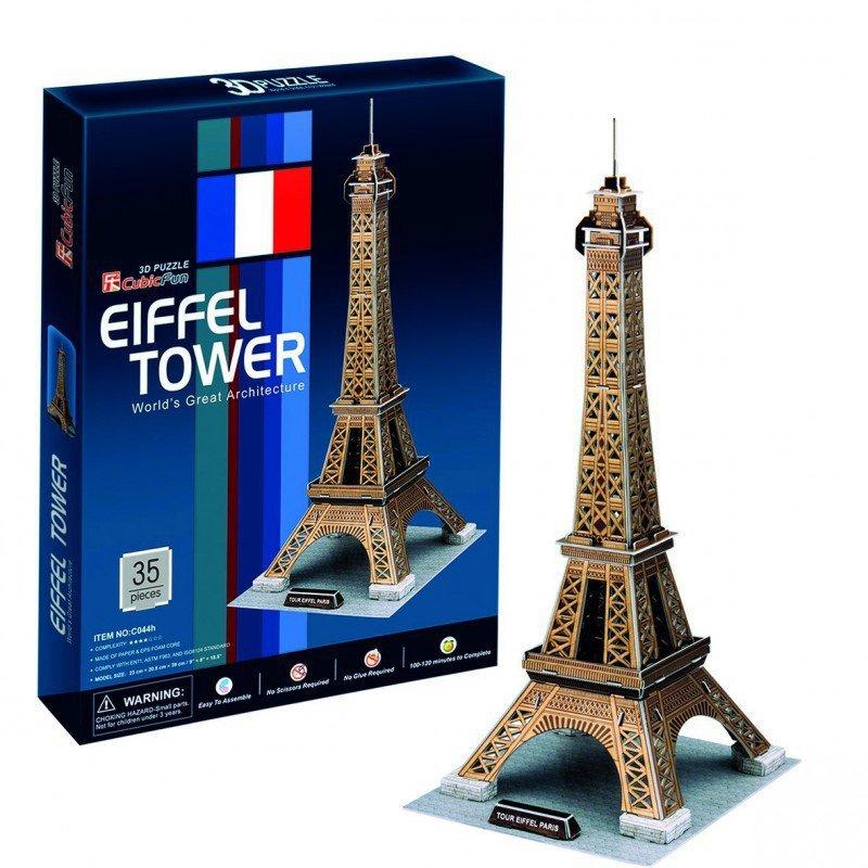 Cubicfun Puzzle 3D Wieża Eiffel'a