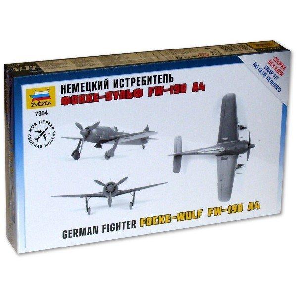 Zvezda Focke-Wulf Fw-190 A-4 German