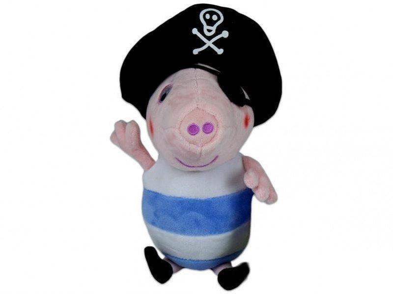 Maskotka George pirat pluszowy 25 cm