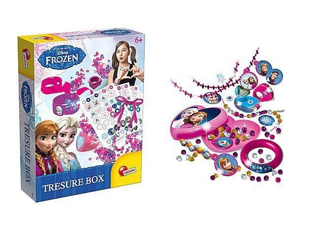 Lisciani Frozen szkatułka ze skarbami