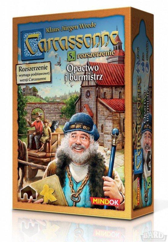 Bard Gra Carcassonne PL 5. Opactwo i Burmistrz, Edycja 2