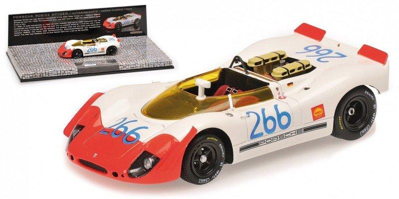 Porsche 908/02 Spyder #266 Mitter/Schutz Targa Florio 1969