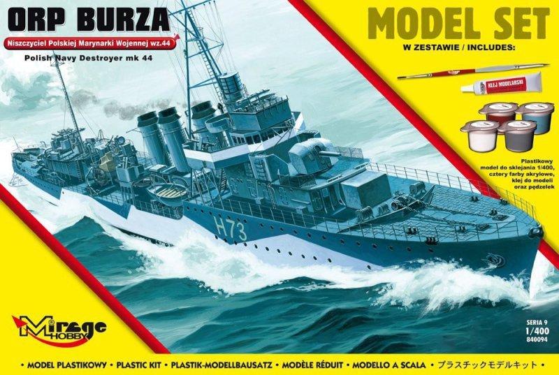 ORP 'Burza' wz.44 [Polski Niszczyciel II WŚ]