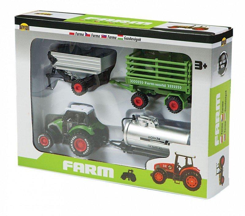 Dromader Mała Farma - Zestaw z 4 maszynami