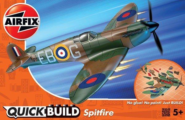 Airfix Model plastikowy QUICKBUILD Supermarine Spitfire