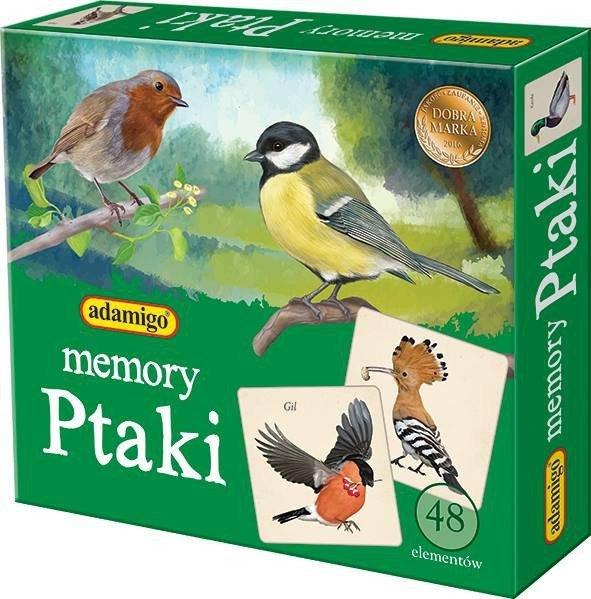 Adamigo Gra Memory Ptaki