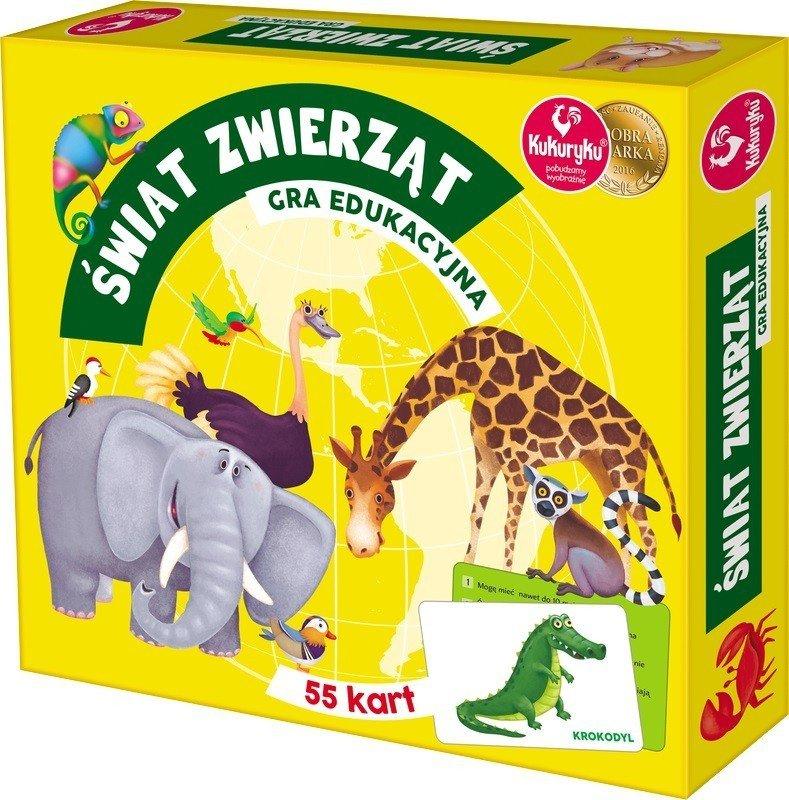 Promatek Gra edukacyjna - Świat Zwierząt
