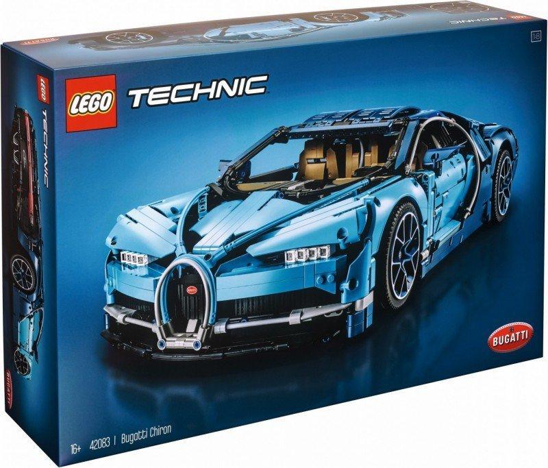 Klocki Technic 42083 Bugatti Chiron