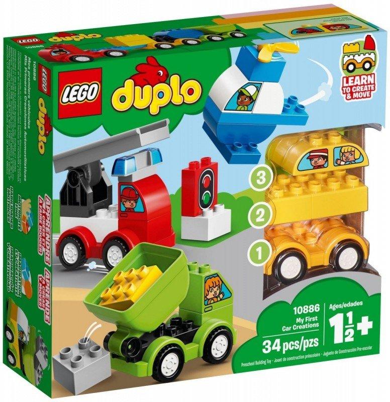 LEGO Klocki DUPLO Moje pierwsze samochodziki