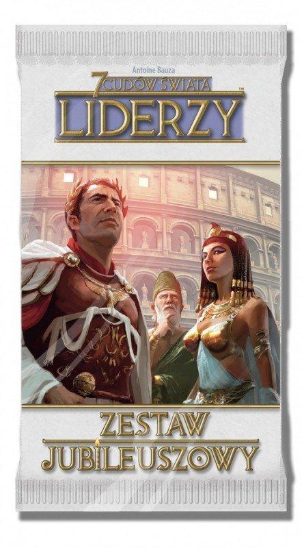 Rebel Gra 7 Cudów Świata: Zestaw jubileuszowy - Liderzy