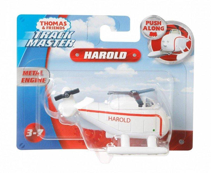 Fisher Price Helikopter Tomek i Przyjaciele, Mała Lokomotywka TrackMaster Harold