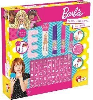 Lisciani Zestaw do paznokci Barbie
