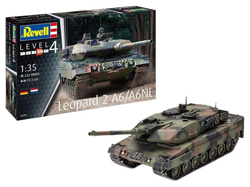 Model plastikowy Leopard 2A6/A6NL