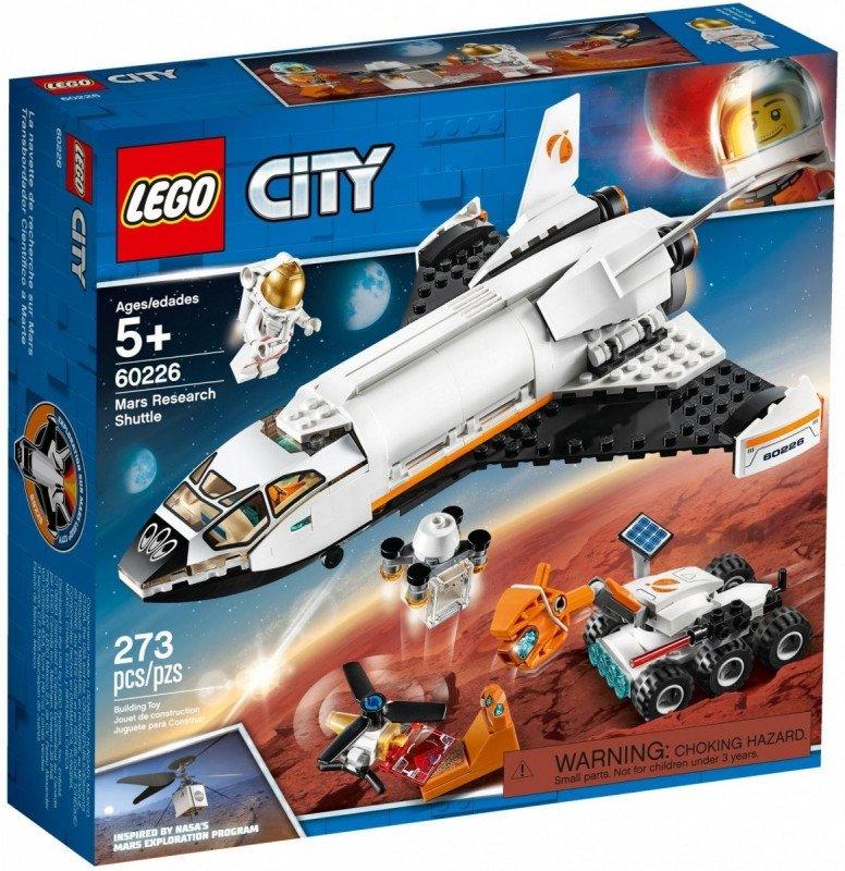 Klocki City 60226 Wyprawa badawcza na Marsa
