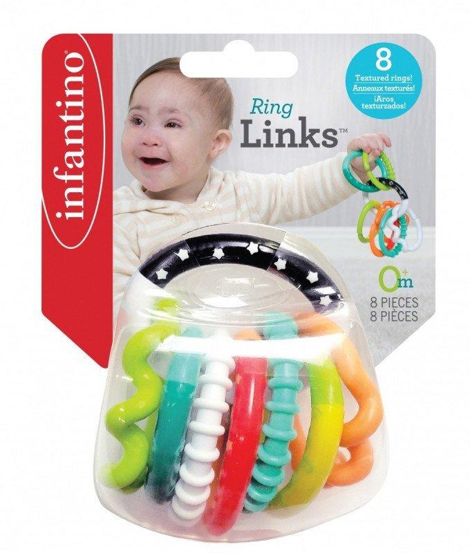 B-kids Łańcuch gryzaczków Infantino 8 elementów