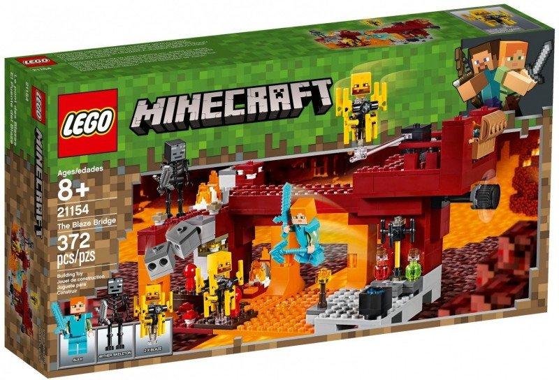 LEGO Klocki Minecraft Most płomyków
