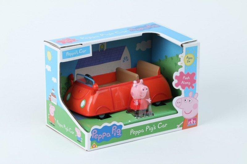 Tm Toys Zestaw z figurką Świnka Peppa Auto Peppy II