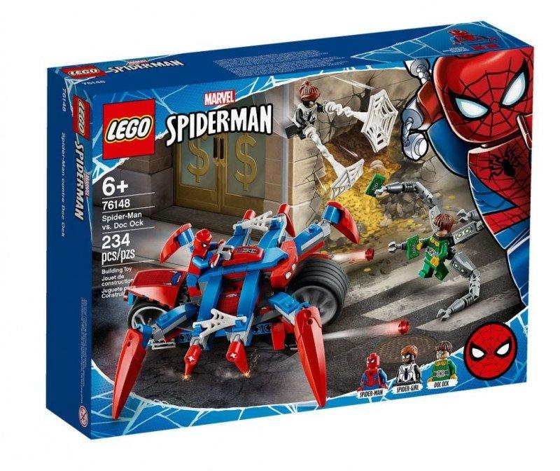LEGO Polska Klocki Super Heroes Spider-Man kontra Doc Ock