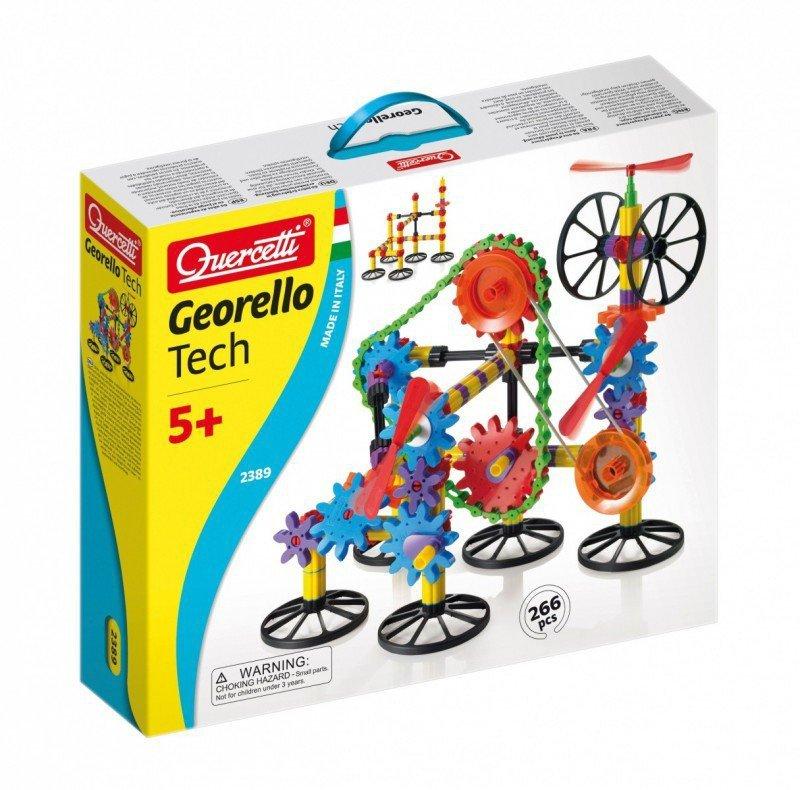 Quercetti Quercetti Georelo 3D Technic Konstruktor