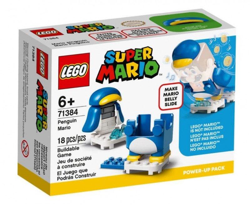 LEGO Klocki Super Mario  Mario pingwin ulepszenie 71384
