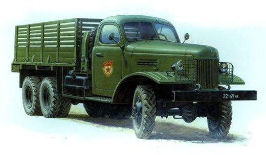 Zvezda ZVEZDA ZIS-151 Soviet Tr uck