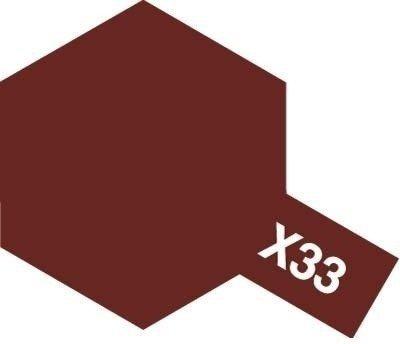 Tamiya Farba Acrylic Mini X-33 brązowa
