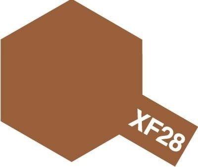Tamiya Farba Acrylic Mini XF-28 Dark Copper