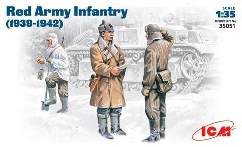 Icm ICM Red Army Infantry 19 38-1942
