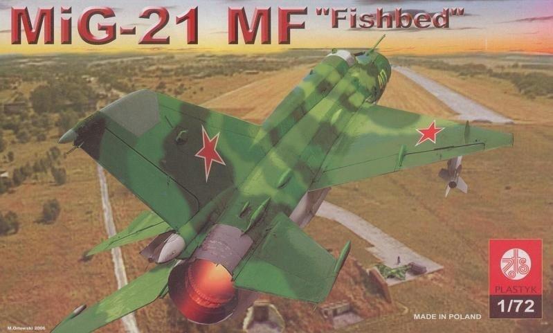 Plastyk MiG-21 MF Fishbed