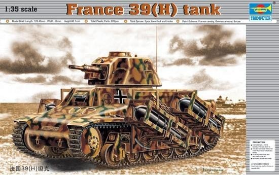 Trumpeter TRUMPETER France 39(H) TANK SA 38