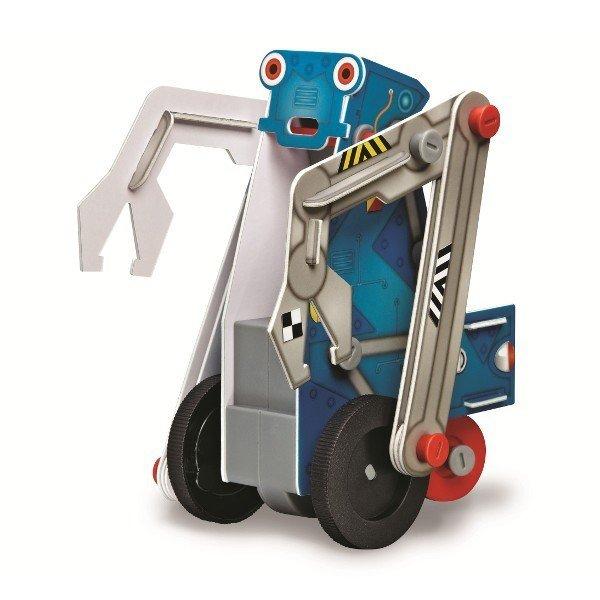 Pojazdy silnikowe - robot ze szczypcami