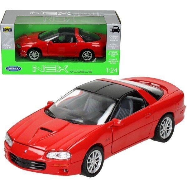 Welly Samochód Chevrolet Camaro S S, czerwonyCHEVROLET CAM