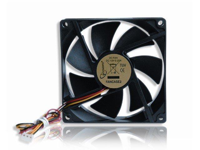 Wentylator 90x90x25mm 3-pin obudowa/zasilacz