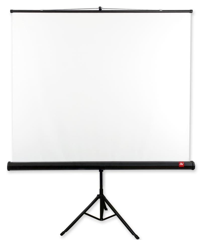 Ekran na statywie Tripod Standard 200, 1:1, 200x200cm, powierzchnia biała, matowa