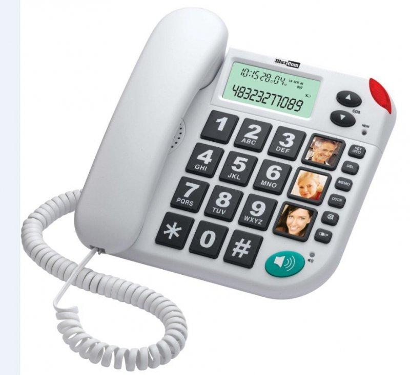 KXT480 BB telefon przewodowy, biały