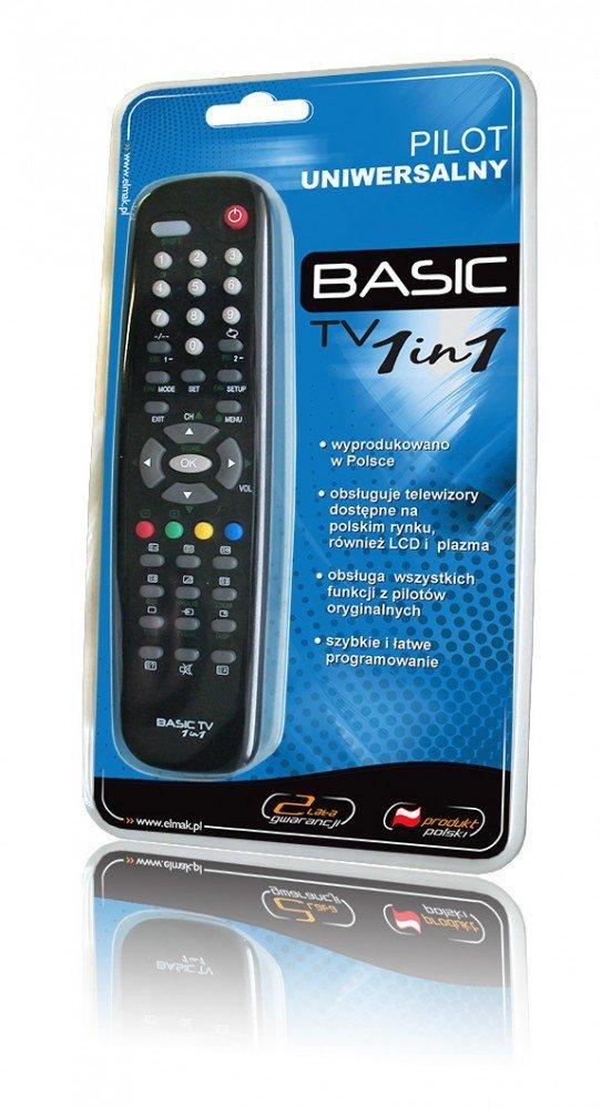 Pilot uniwersalny Basic 1w1 TV