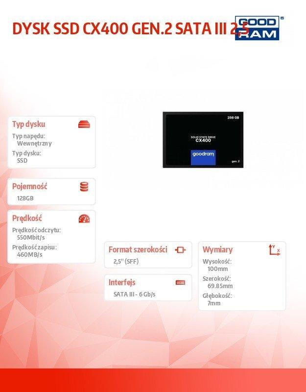 CX400-G2 128GB  SATA3 2,5