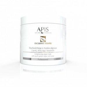 APIS Exclusive terApis rozświetlająca maska algowa z perłą, złotą algą i kawiorem 250g
