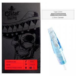 Igły Kartridże El Cartel 0.35mm 23 Magnum 10 szt.