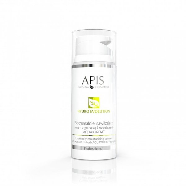 APIS Hydro Evolution ekstremalnie nawilżające serum z gruszką i rabarbarem AQUAXTREM™ 100ml