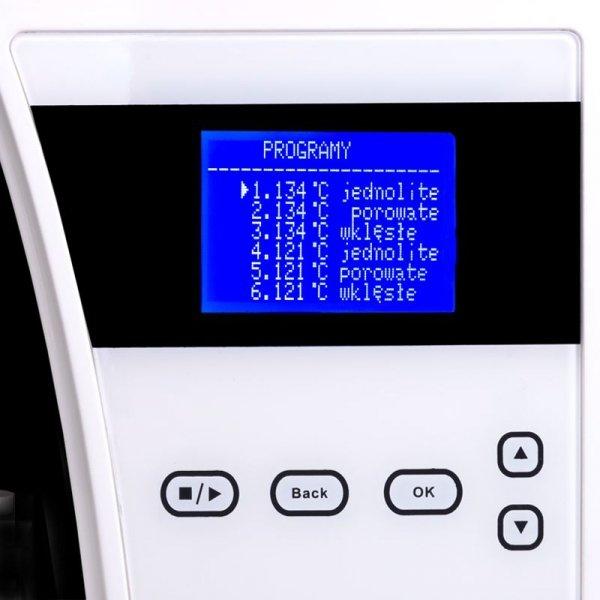 LAFOMED AUTOKLAW PREMIUM LINE LFSS12AA LCD Z DRUKARKĄ 12-L KL.B MEDYCZNA