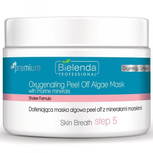 BIELENDA Skin Breath Dotleniająca maska algowa peel off z minerałami morskimi 80g