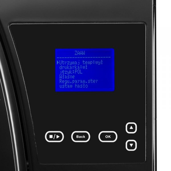 LAFOMED AUTOKLAW PREMIUM LINE LFSS12AA LCD Z DRUKARKĄ 12 L KL. B MEDYCZNA CZARNY