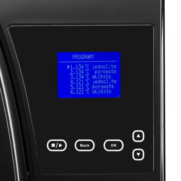 LAFOMED AUTOKLAW PREMIUM LINE LFSS08AA LCD Z DRUKARKĄ 8 L KL. B MEDYCZNA CZARNY