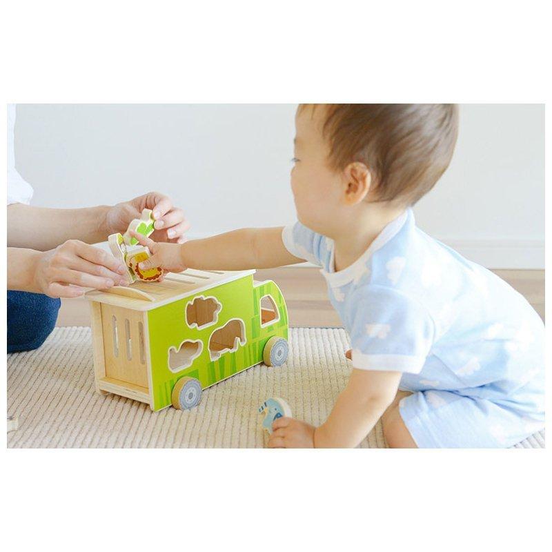 CLASSIC WORLD Ciężarówka Sorter Kształtów Zwierzęta