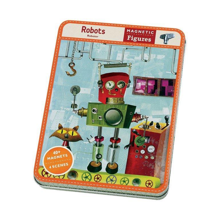 magnetyczna układanka postacie roboty www.tuliki.pl