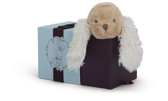 Kaloo Szczeniaczek Karmelowy w pudełku 19 cm kolekcja Les Amis